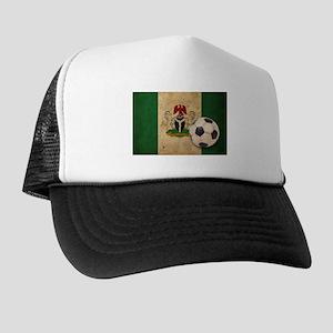 Vintage Nigeria Football Trucker Hat