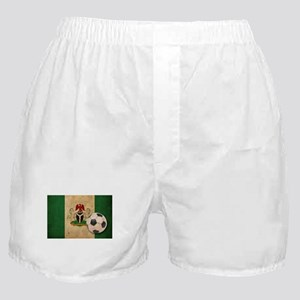 Vintage Nigeria Football Boxer Shorts