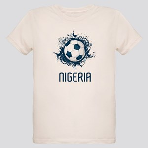 Nigeria Football Organic Kids T-Shirt