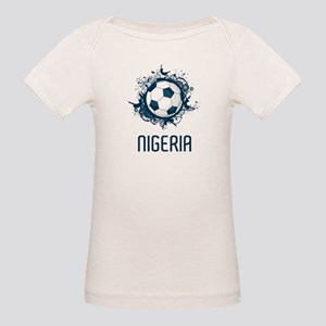 Nigeria Football Organic Baby T-Shirt