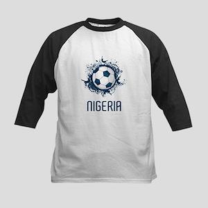 Nigeria Football Kids Baseball Jersey