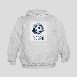 Nigeria Football Kids Hoodie