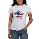 American Flag - Star Women's T-Shirt