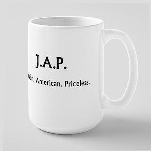 Jewish. American. Priceless. MUG