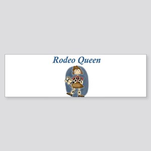 RODEO QUEEN Bumper Sticker
