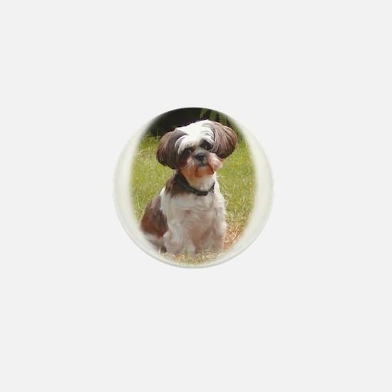 Shih Tzu Cute Mini Button