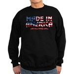 Made In America (with some fo Sweatshirt (dark)
