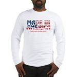 Made In America (with some fo Long Sleeve T-Shirt