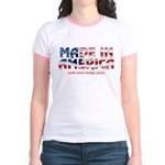 Made In America (with some fo Jr. Ringer T-Shirt