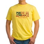 Made In America (with some fo Yellow T-Shirt
