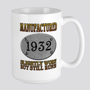 Manufactured 1932 Large Mug