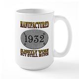1932 Large Mugs (15 oz)