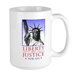 Liberty & Justice For All Large Mug