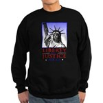 Liberty & Justice For All Sweatshirt (dark)