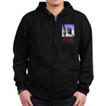 Liberty & Justice For All Zip Hoodie (dark)
