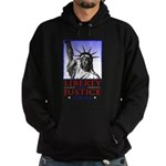 Liberty & Justice For All Hoodie (dark)