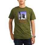 Liberty & Justice For All Organic Men's T-Shirt (d
