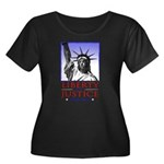 Liberty & Justice For All Women's Plus Size Scoop
