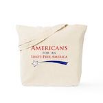 Idiot Free America Tote Bag