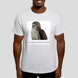 Hawk Ash Grey T-Shirt