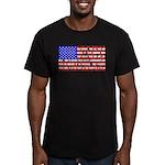 Declaration as a Flag Men's Fitted T-Shirt (dark)