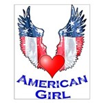 American Girl Small Poster