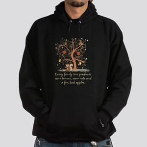 Family Tree Humor Hoodie (dark)
