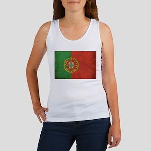 Vintage Portugal Flag Women's Tank Top