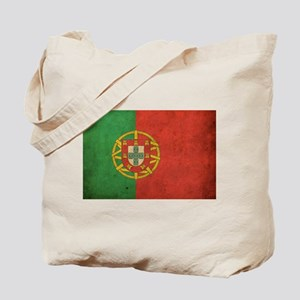 Vintage Portugal Flag Tote Bag