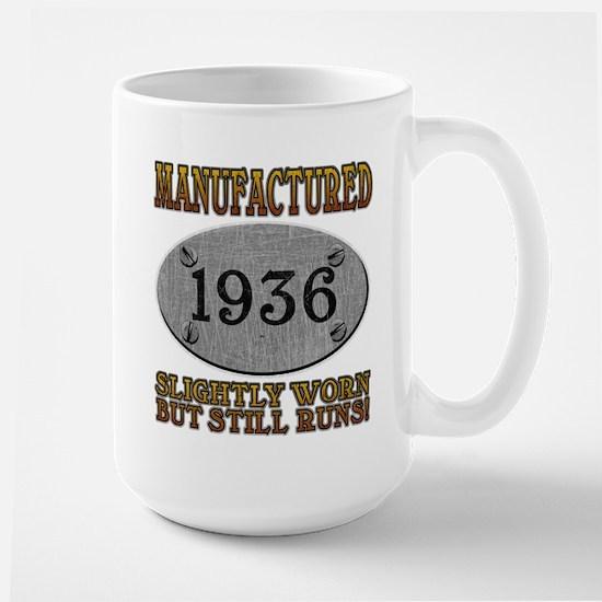 Manufactured 1936 Large Mug