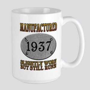 Manufactured 1937 Large Mug