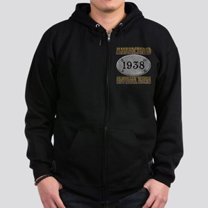 Manufactured 1938 Zip Hoodie (dark)