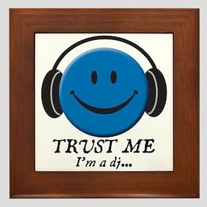 Trust Me, I'm a DJ Framed Tile