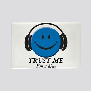 Trust Me, I'm a DJ Rectangle Magnet