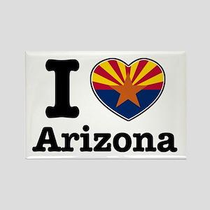 I love Arizona Rectangle Magnet