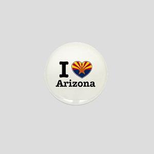 I love Arizona Mini Button
