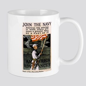 Join the Navy - Be Part of It Mug