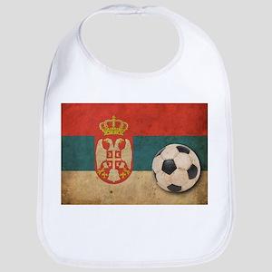 Vintage Serbia Football Bib