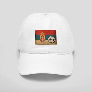 Vintage Serbia Football Cap