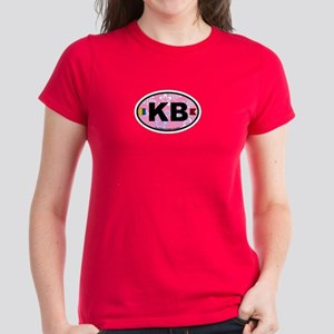 Kure Beach NC - Oval Design Women's Dark T-Shirt