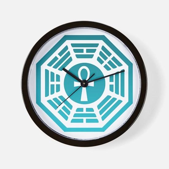Dharma Ankh Wall Clock