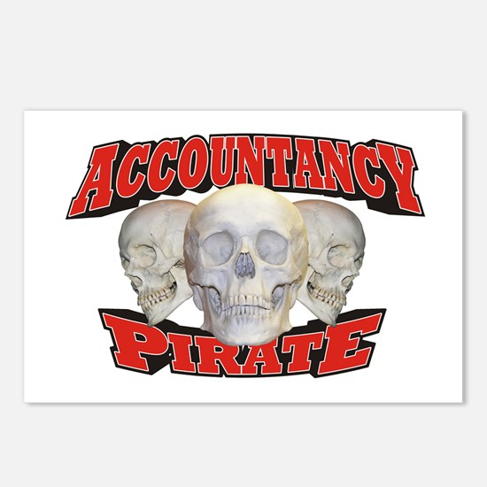 Accountancy Pirate Postcards (Package of 8)