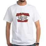 Real Estate Pirate White T-Shirt