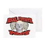 Real Estate Pirate Greeting Cards (Pk of 20)