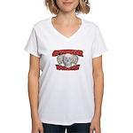 Optometry Pirate Women's V-Neck T-Shirt