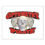 Optometry Pirate Small Poster