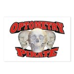Optometry Pirate Postcards (Package of 8)