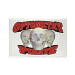 Optometry Pirate Rectangle Magnet