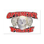 Optometry Pirate Mini Poster Print