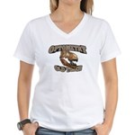 Optometry Old Timer Women's V-Neck T-Shirt